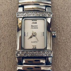 💎Genuine Diamond Saint James Women's Watch